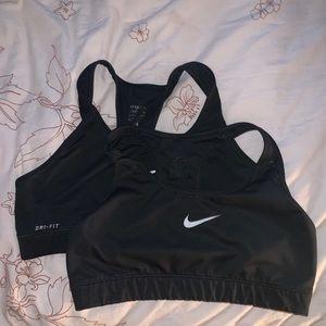 SET OF TWO: Nike Pro Sports Bras